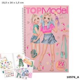 Top Model Pyssel bok Dress me up med 186st Stickers - Top Model Pyssel bok Dress me up med 186st Stickers