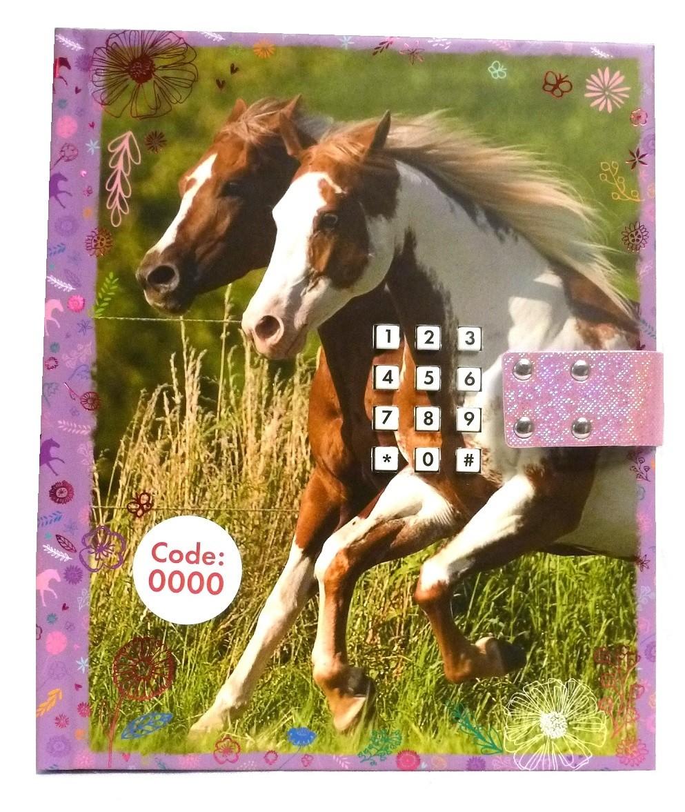 _horses_dreams_dagbok_kod_ljud_lila_rosa_hästar_