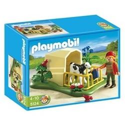 Playmobil 5124, Kalvuppfödning - Playmobil 5124, Kalvuppfödning