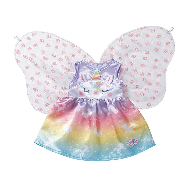baby_born_regnbåge_fairy_dress_