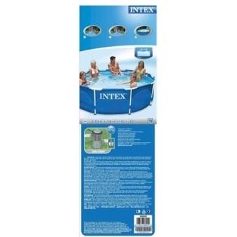 INTEX Rörpool 305x76cm (4.485L) inkl. filterpump. - INTEX Rörpool 305x76cm (4.485L) inkl. filterpump.