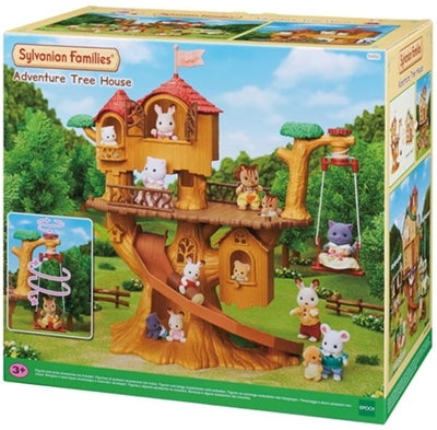 Sylvanian-familj-families-adventure-tree-house