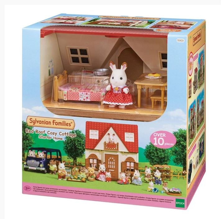 Sylvanian-familj-families-red-roof-cosy-cottage-Startset