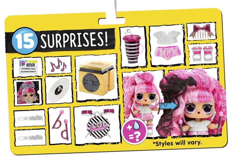 L.O.L. Surprise REMIX Hairflip Tots-Lekextra