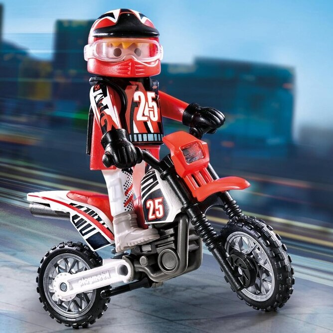 playmobil-9357-motorcykel-röd-