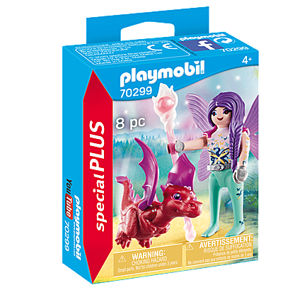 Älva-med-drakunge-playmobil-