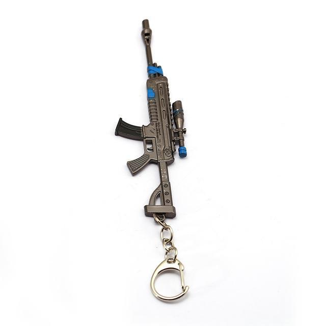 scoped-assault-rifle -keyring-