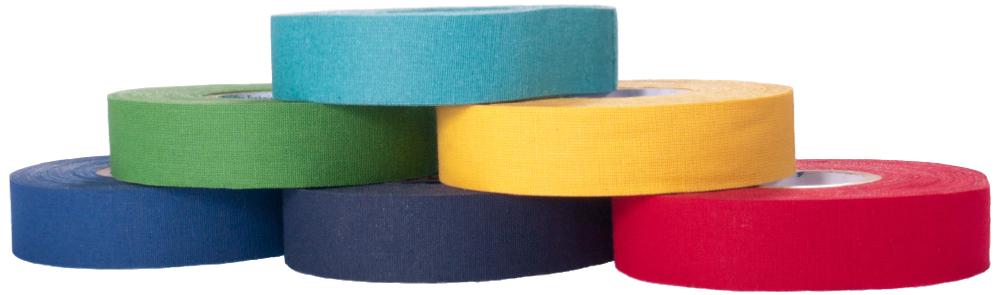 tejp i olika färger