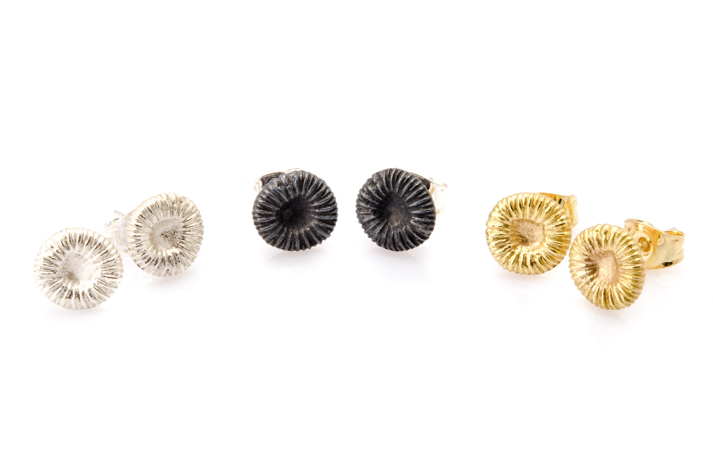 Fossil - örhängen, small 8x8 mm