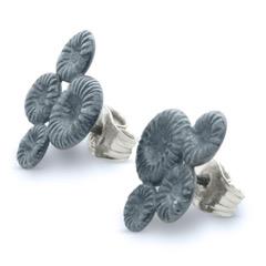 Örhänge Fårö, oxiderat silver