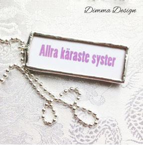 Lött smycke Allra käraste syster 2 - Lött smycke Allra käraste syster 2