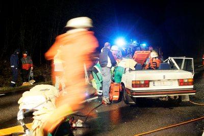 Bild från Bohusläningen som visar den bil som körde in i mig-