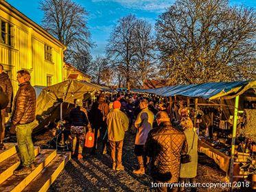 Julmarknad vid Färgelanda prästgård, december 201
