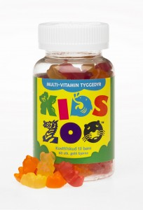 KidsZoo multivitamin 60st - Kids Zoo Multivitamin Jordgubb