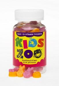KidsZoo Kalcium+D-vitamin - Kids Zoo kalcium+D-vitamin