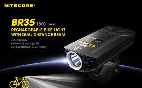Nitecore BR35 Cykellampa - Nitecore BR35 Cykellampa