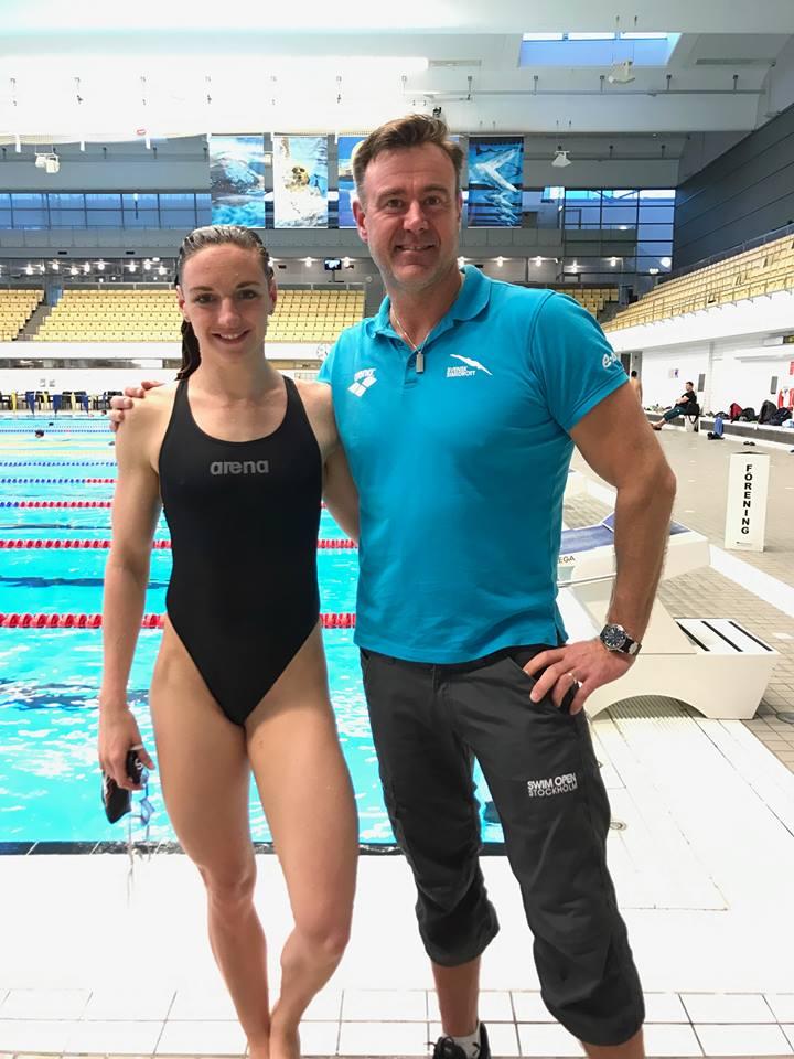 Europarekord av brittisk simmare
