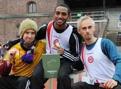 DM-medaljörerna Calle, Napoleon och Brian