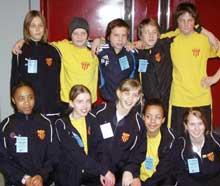 Övre raden:  Gabriel, Ludvig, Petter,  Calle  och Fredrick   Nedre raden: Grace, Caroline, Sandra,  Adjani och Mikaela
