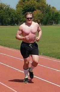 Jesper i 3000-metersdebut