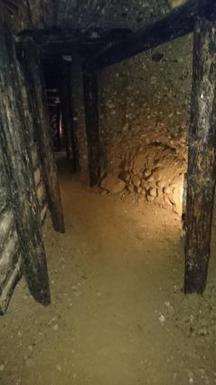 Inside the Ravne tunnels