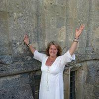 Ann Aglgren Änglavingar i Glastonbury Abby