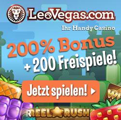 Freispiele bei Leo Vegas!
