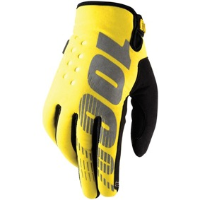 100%Brisker CW Gloves junior - Brisker CW Gloves junior Gul S
