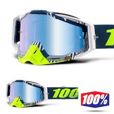 100% Racecraft Eclipse - Mirror Blue Lens - 100% Racecraft Eclipse - Mirror Blue Lens