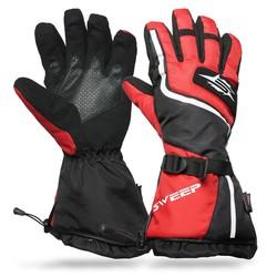 Sweep Handskar Snow Core, röd/svart - Sweep Handskar Snow Core, röd/svart 3XL
