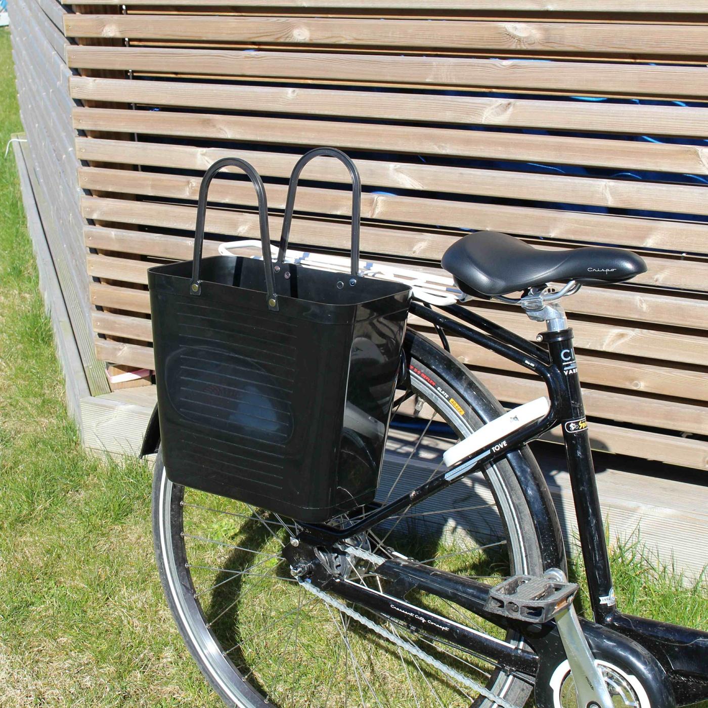 Svart - Cykelkorg
