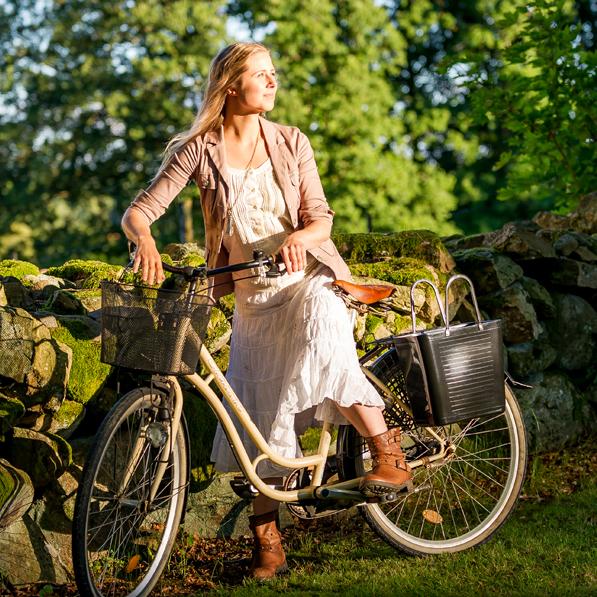 Cykelkorg svart