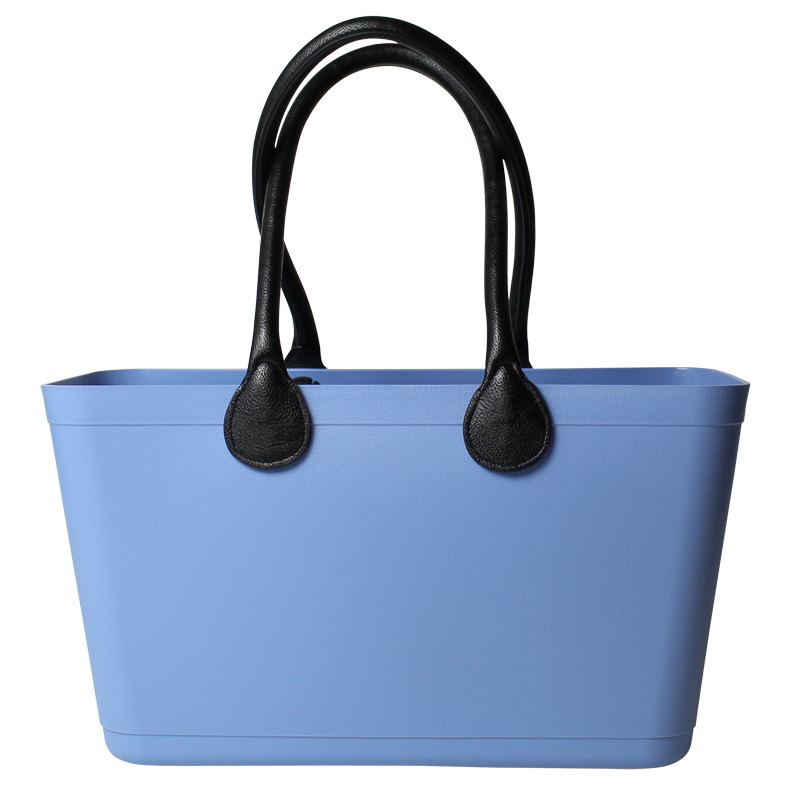 55125-1 Sky blue Bioplast Sweden Bag Stor