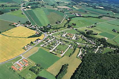 Flygbild, Laholms kommun