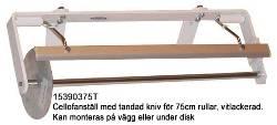 Cellofanrullställ bredd 75cm.