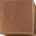 152207 Presentpapper 38,57cm.Bronsfärgat ribbat med vit baksida