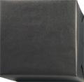 154221 Presentpapper Ribbat svart med brun baksida.(57cm. 38cm. 200m.)