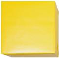 150720 Presentpapper Blankbestruket Gult slätt papper med vit baksida