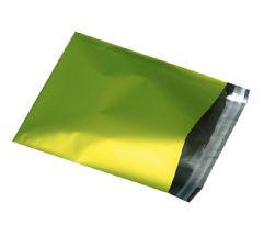 Foliepåsar Matta Olive/lime med tejpförslutning