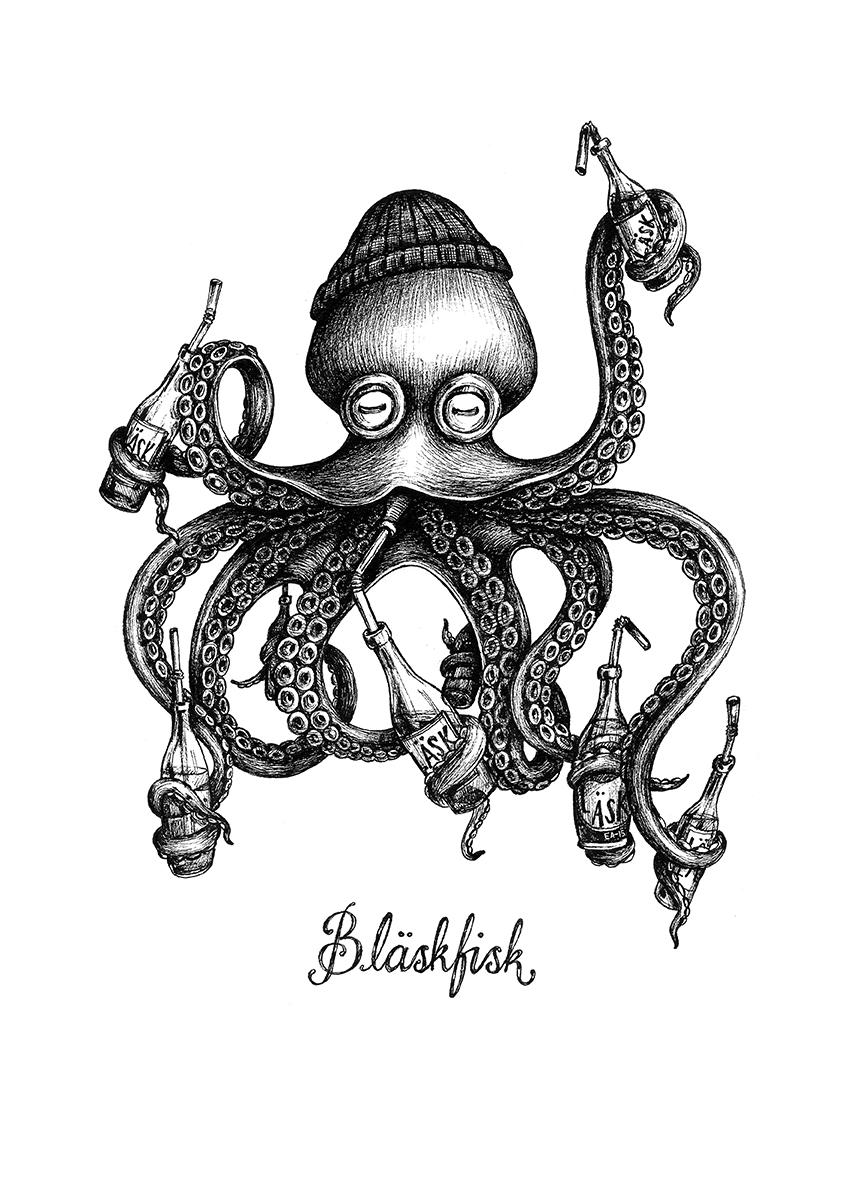 bläskfisk