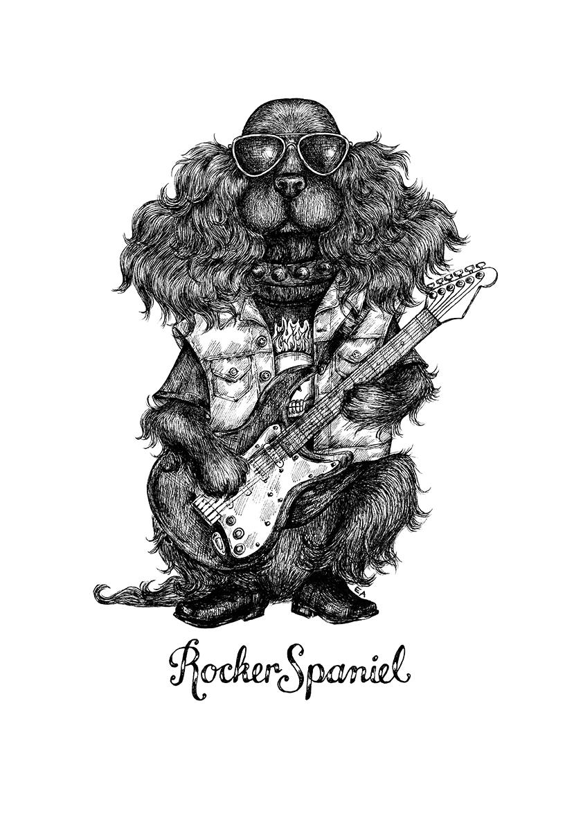 rocker spaniel original