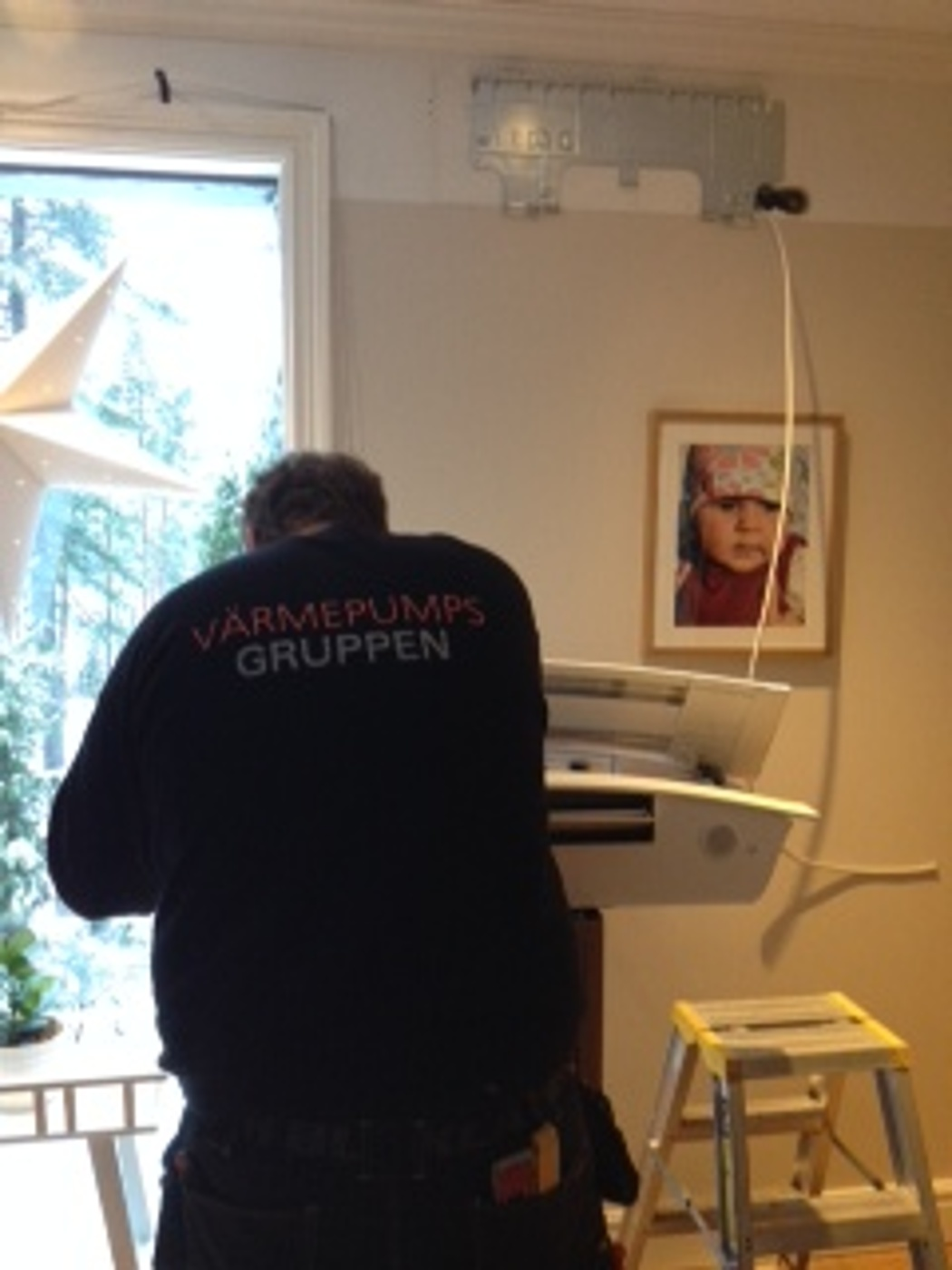 På tisdagen utfördes ännu en lyckad installation av luftvärmepump hos en  mycket nöjd kund i Eskilstuna. 4a5b7a98d9371