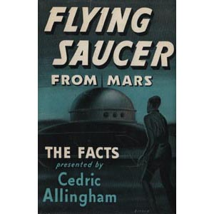Allingham, Cedric: Flying saucer from Mars