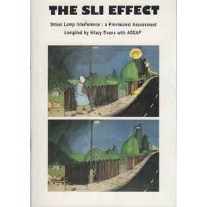 Evans, Hilary: The SLI effect. Street lamp interference