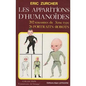 Image result for Zurcher. Les Apparitions d 'humanoides