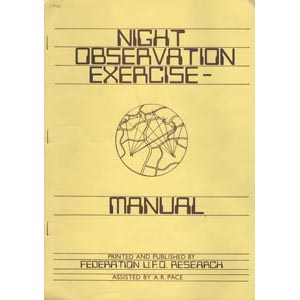 FUFOR: Night observation exercise - manual