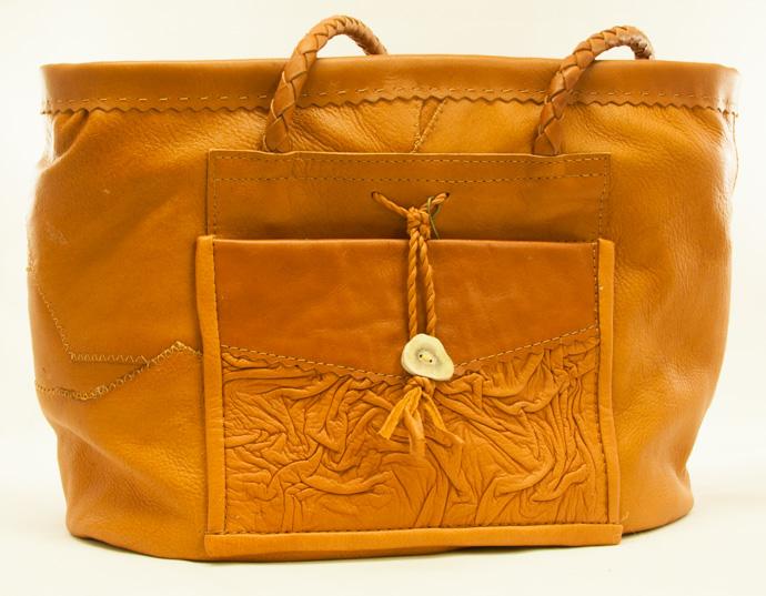 väska renskinn brun1