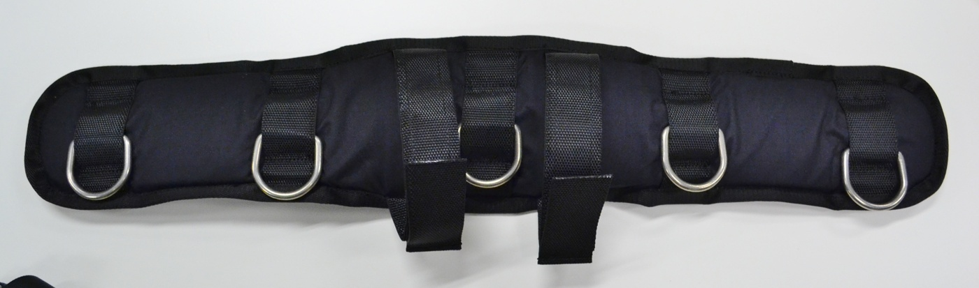 Padded waiste belt