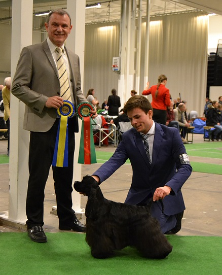 Lisen new SWEDISH CHAMPION, Judge: Frank Whyte (UK)