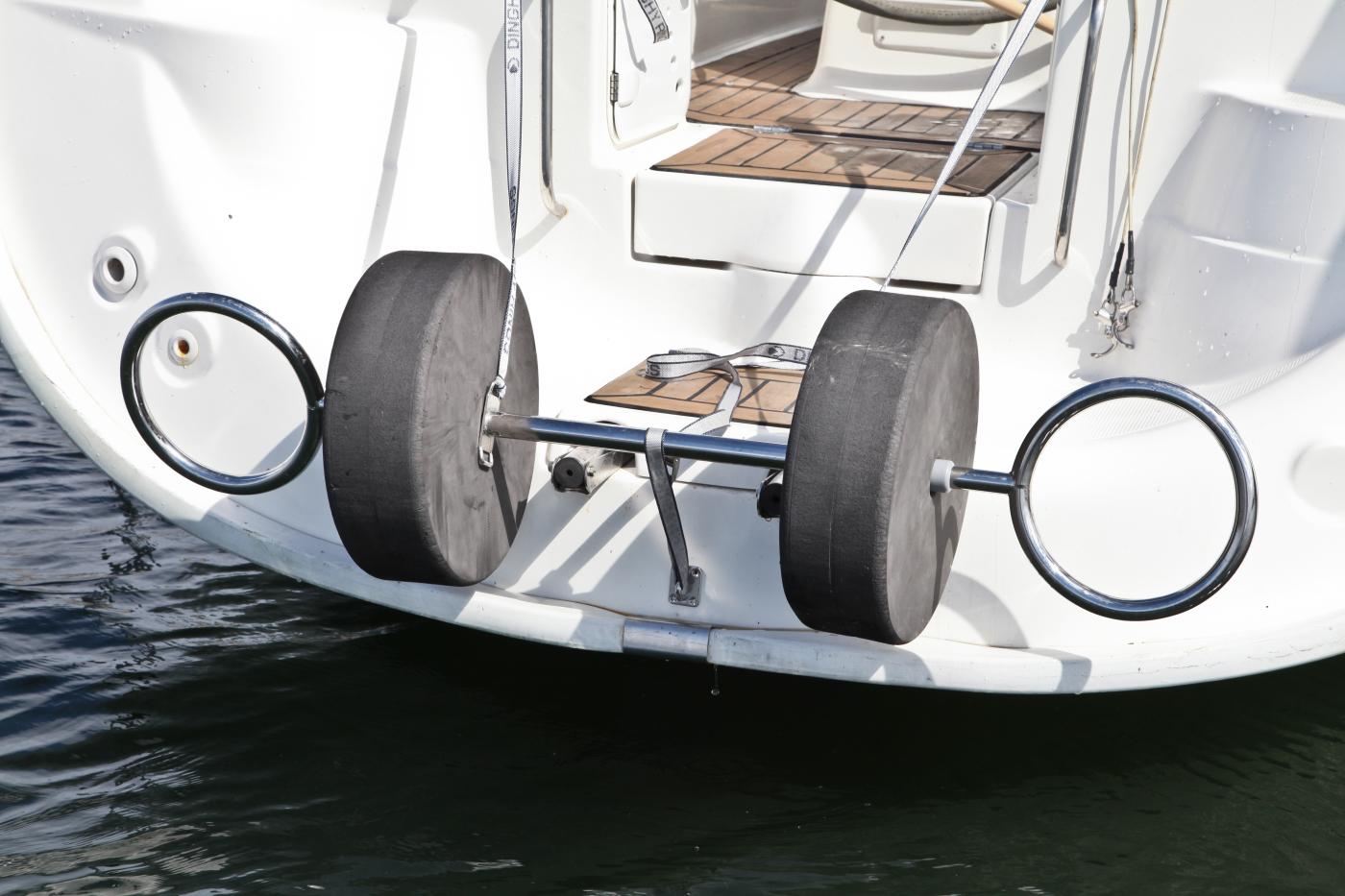 Dinghy Rings FLEX tom på segelbåt